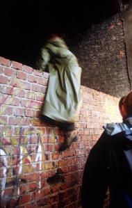 Mauerklettern mit Boris Sieverts © Michael Kneffel