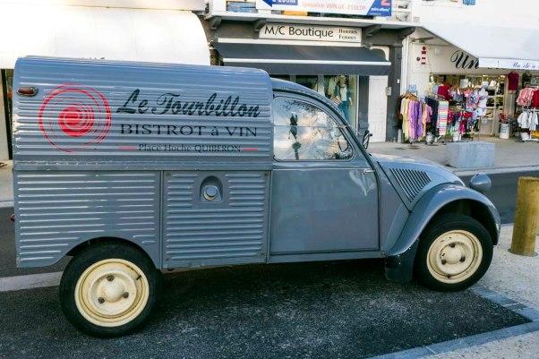 auch der Lieferwagen des Tourbillon hat Stil  © Michael Kneffel