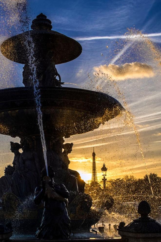Fontaine des Fleuves auf der Place de la Concorde © Michael Kneffel