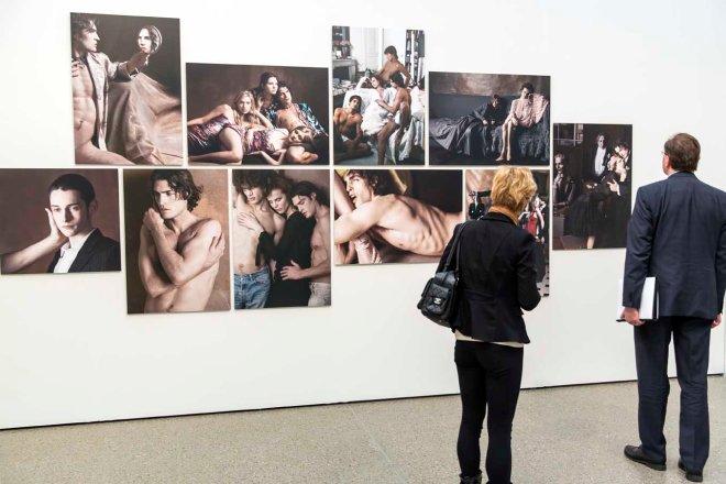 """Karl Lagerfeld. Parallele Gegensätze"" im Museum Folkwang © Michael Kneffel"