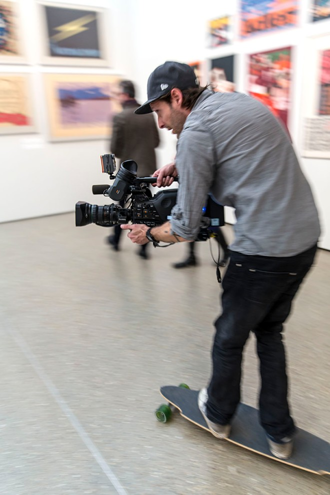 ...und auf rasanten Kamerafahrten gefilmt © Michael Kneffel