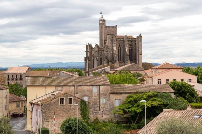 Capestang mit der Kirche Saint Etienne © Michael Kneffel