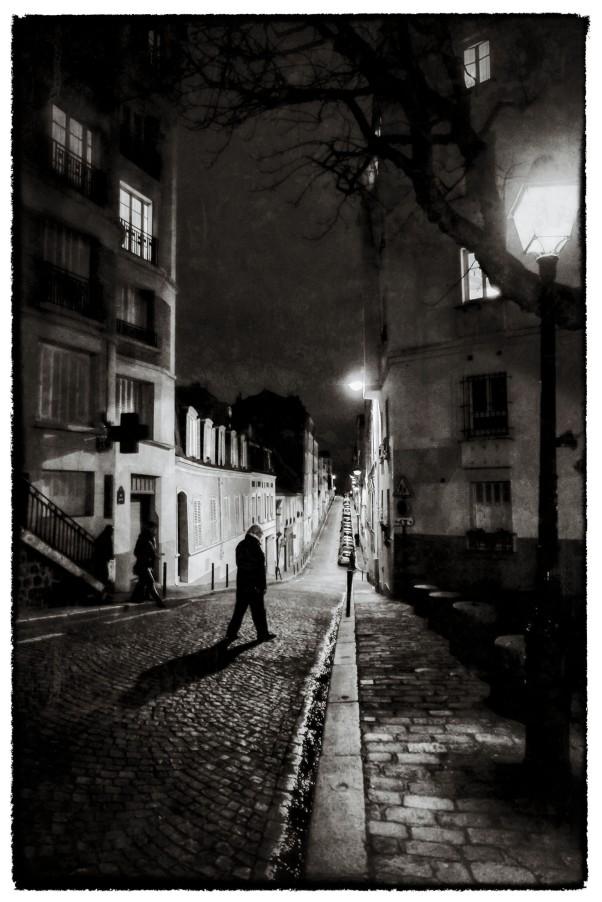 Rue Berthe auf dem Montmartre © Michael Kneffel