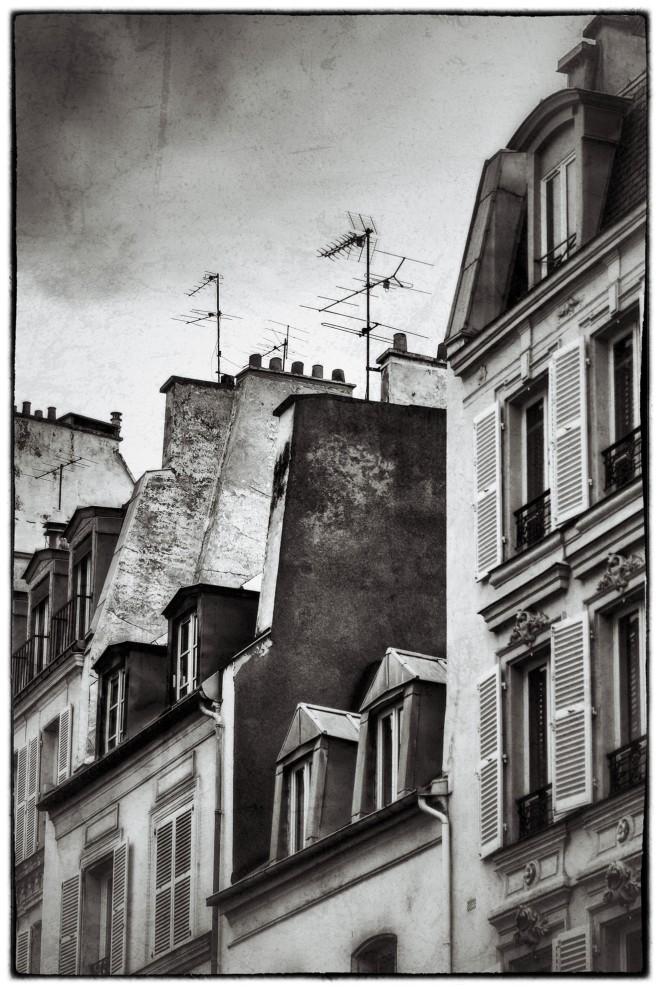 Häuser in der Rue de Passy © Michael Kneffel