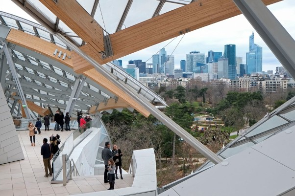 Fondation Luis Vuitton © Michael Kneffel