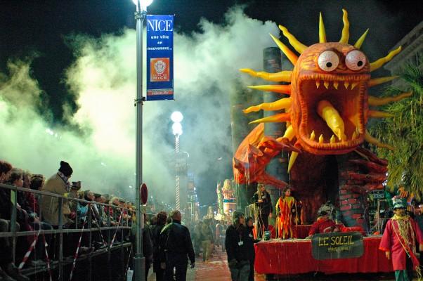 Karneval in Nizza © Michael Kneffel