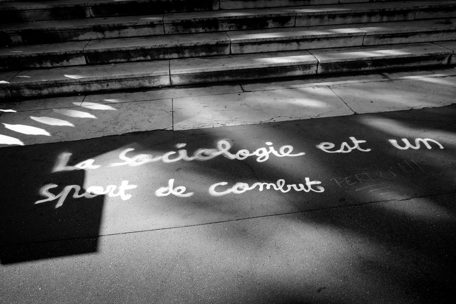 vor der Sorbonne im Oktober 2016 © Michael Kneffel