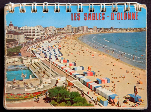 alte Ansicht von Les Sables aus den 80er Jahren