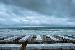 am Strand von Les Sables d´Olonne © Michael Kneffel