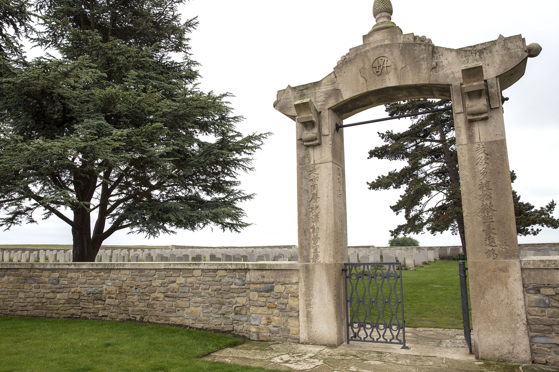 Chinesischer Friedhof in Noyelles-sur-Somme © Michael Kneffel