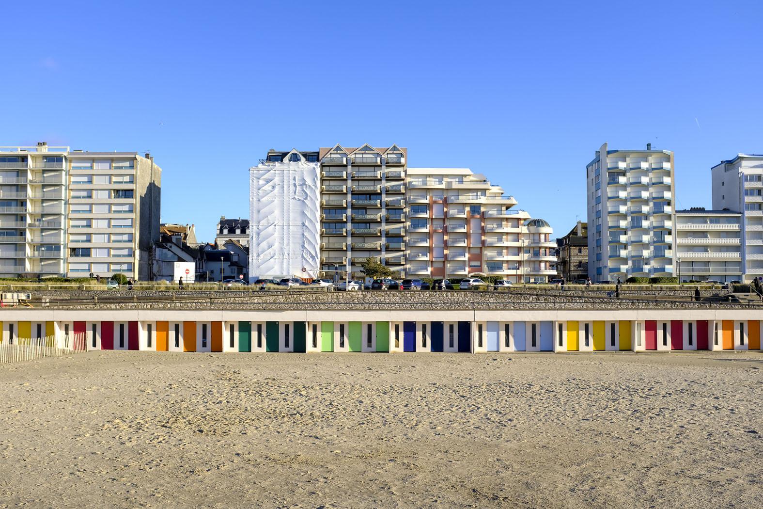 Vom Strand aus gesehen ist Le Touquet wirklich keine Schönheit © Michael Kneffel