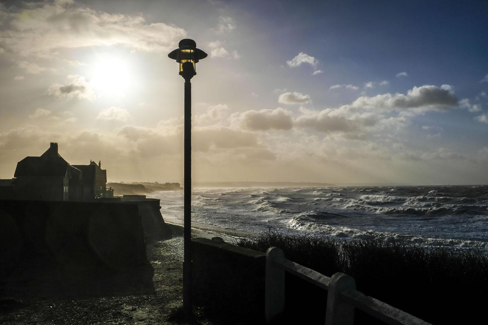 Stürmisches Wetter in Audresselles © Michael Kneffel